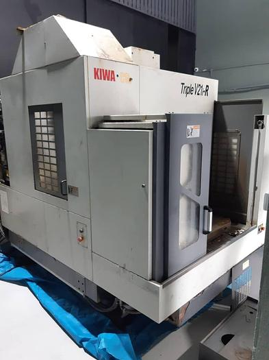 Used Used KIWA Triple-V21i-R Vertical Machine Center