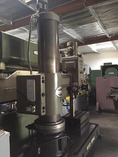 "5' x 15"", KAO MING Model KMR-1600DH, 30 - 1580 RPM, 7.5 HP, Pwr. Clamp/Elevation [4248]"