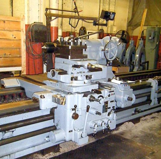 "1965 Skoda Engine Lathe, 49"" x 200"" 38"" SOC"