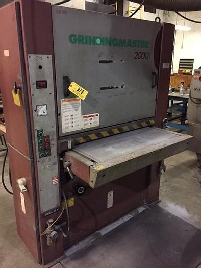 """Used 36"""" GRINDMASTER 2000 SANDER"""