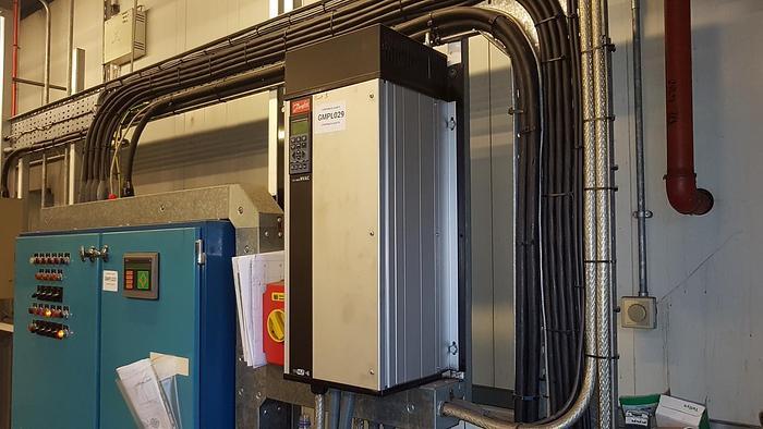 Used DANFOSS VLT 6000 HVAC Variable Frequency Inverter Drive