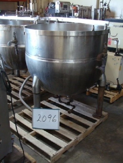 TA-150 150 Gallon Groen Jacketed Kettle #2096