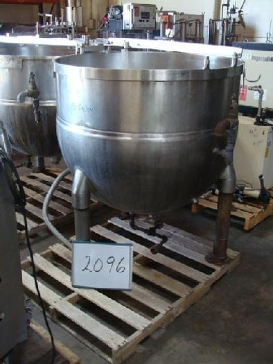 Used TA-150 150 Gallon Groen Jacketed Kettle