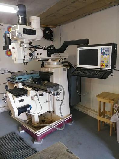 2008 CNC Milling machine 10x54 centroid control
