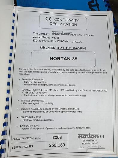Nortan 35 Sleeve Applicator