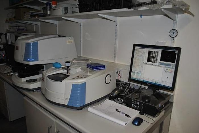 Nicolet Thermo  Scientific FTIR with iN10mx and iZ10 module