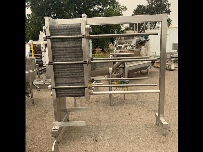 Used APV Stainless Steel Plate Heat Exchanger SR35SH
