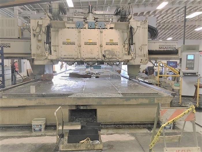 Used 1981 Cincinnati 3 Spindle/5 Axis Profiling Mill