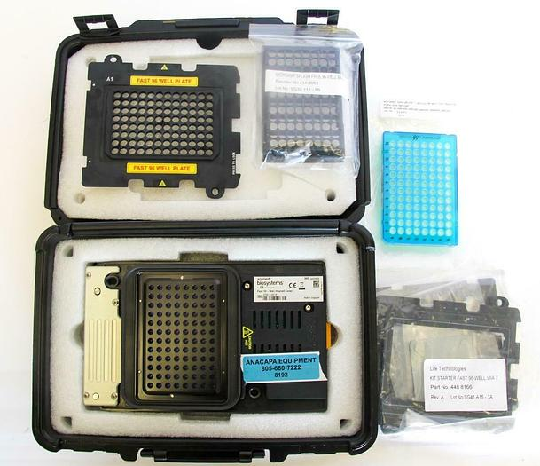 Used Applied BioSystems ViiA 7, 4459338 Fast 96 Well Heated Cover, Plate Adapter 8192