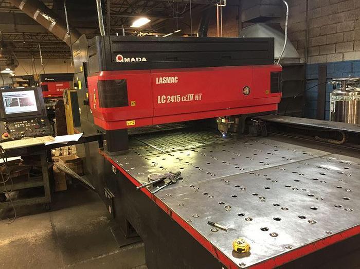 2006 4000 Watt Amada Pulsar 2415-AIVNT CNC Laser