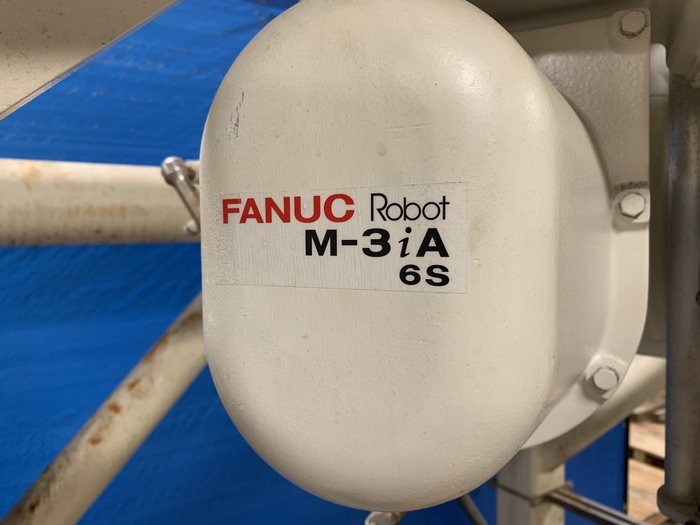 FANUC M3iA/6S HIGH SPEED PICKING & ASSEMBLY ROBOT