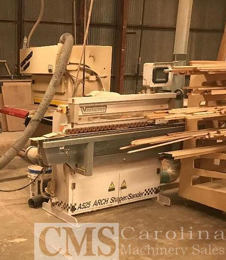 Used 2006 Voorwood A525 Arch Shaper Sander