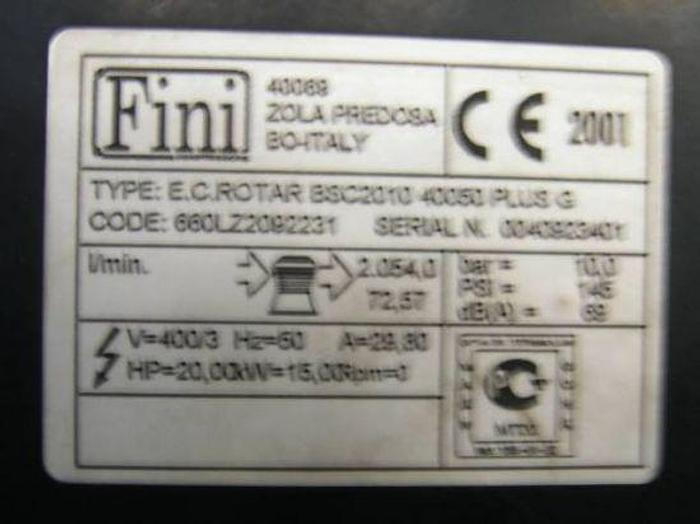 Compressore Fini BSC 20