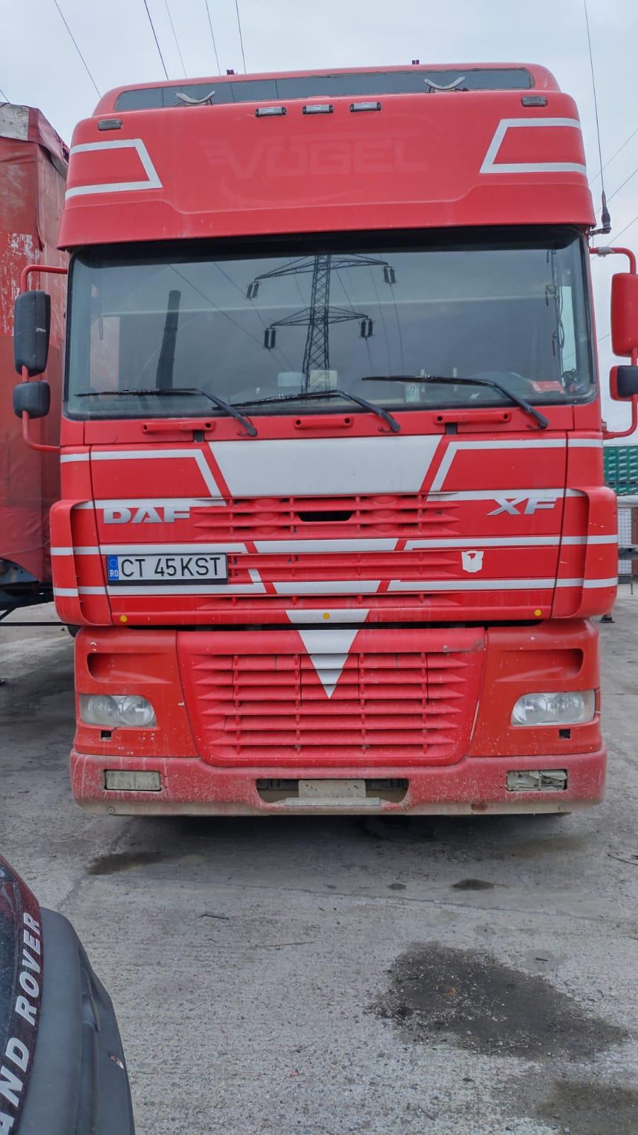 2003 DAF 95 XF 480 EURO 3 MANUAL