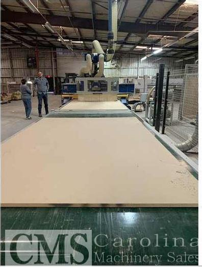 Used 2017 Giben G4 CNC Router wity Outfeed