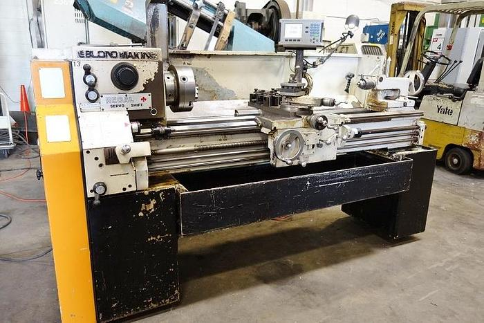 "Leblond Regal Makino 15"" x 54"" Engine Lathe Accurite Digital Read Outs 15 x 54 Engine Lathe Servo Shift"