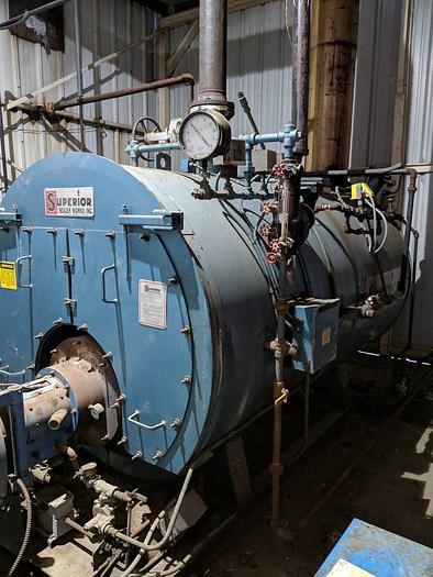 2007 Superior Boiler 80 HP Low Pressure Steam Boiler 4-X-402-S15