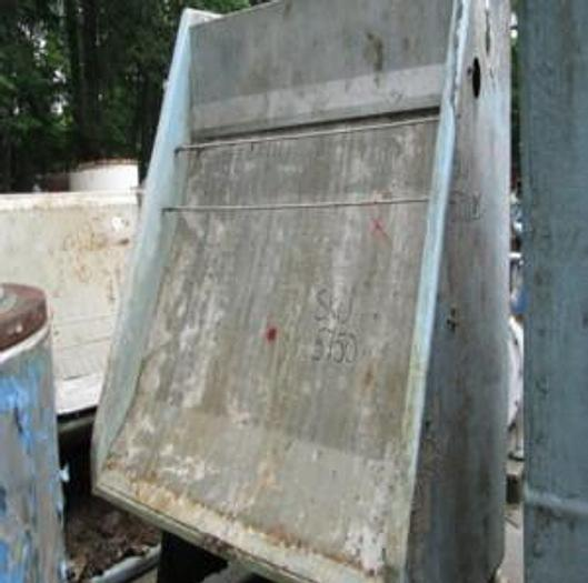 """Used BAUER 72"""" (1.82M) MDL 554F-1-72 HYDRASIEVE FRP BODY S/S SCREEN PLATE .030"""" (.76MM) SLOTS"""