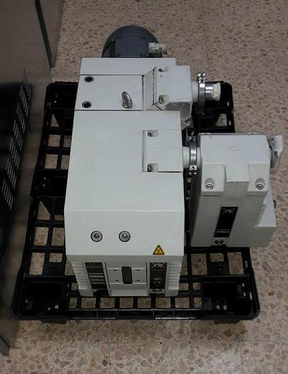 OERLIKON LEYBOLD TRIVAC D65B + FILTER AR 40-65 VACUUM PUMP