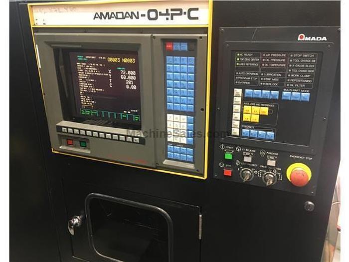 1993 33 Ton Amada Pega 367 CNC Turret Punch