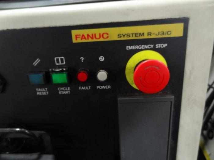 FANUC M6iB 6S 6 AXIS CNC ROBOT WITH RJ3iC CONTROLLER