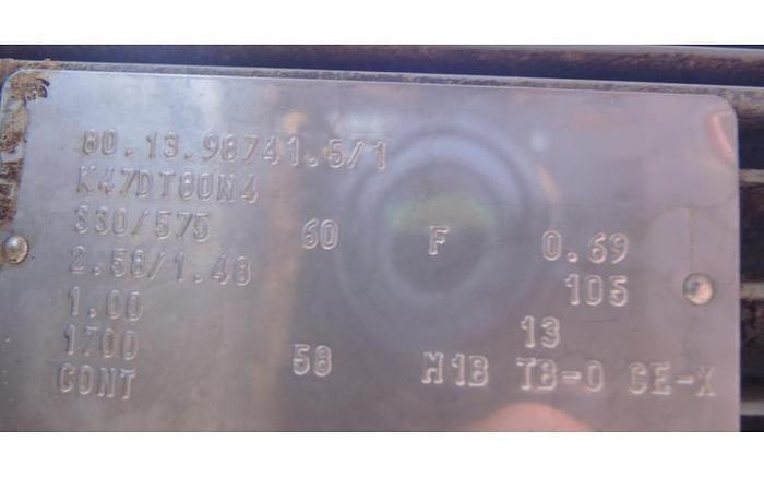 """USED SCREW CONVEYOR, 7"""" DIAMETER X 176"""" LONG, STAINLESS STEEL"""