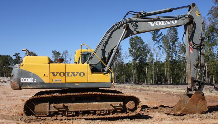 Used VOLVO Excavator EC330B LC