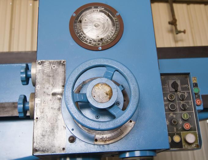 "8 ft. x  24"" WMW Model BR 80-2500 GH Radial Arm Drill"