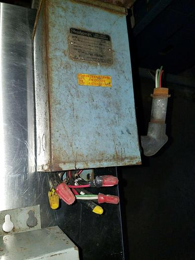 Used 240/480 High Volt 120/240 Low Volt Transformer 1 KVA Single Phase
