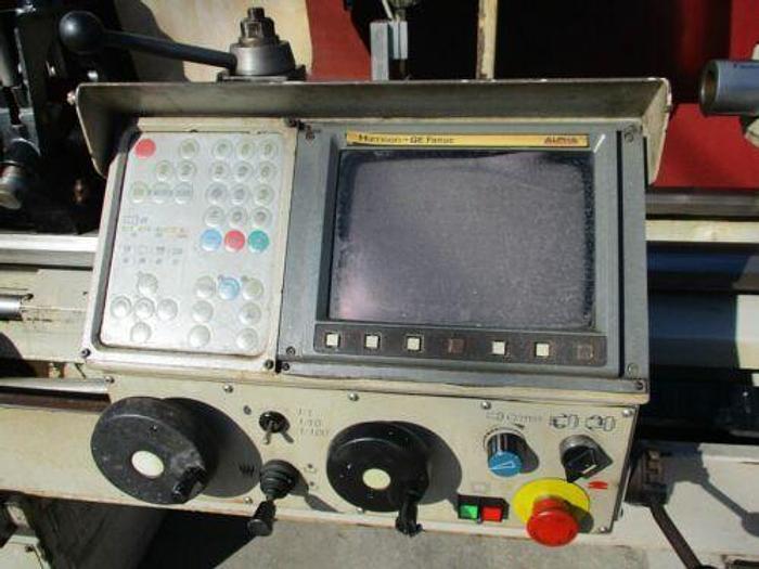 1997 HARRISON ALPHA 400 CNC TURNING CENTER / TEACH LATHE W/ FANUC