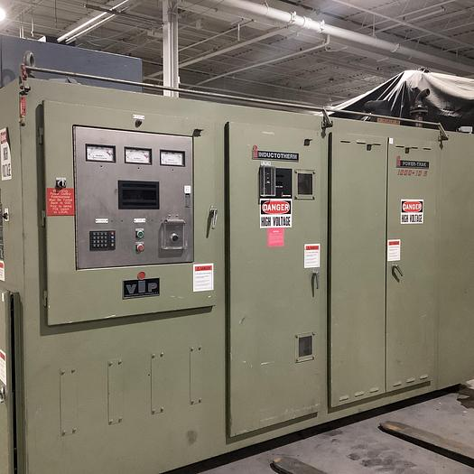 Used 1996 INDUCTOTHERM 1000-10R POWER SUPPLY (On Hold)