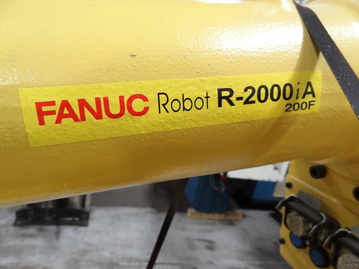 8-FANUC R2000iA/200F 6 AXIS CNC ROBOT W/RJ3IB CONTROLS (REFURBISHED)