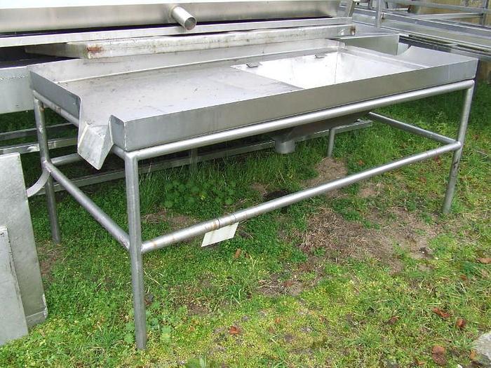 Używane Stół nierdzewny