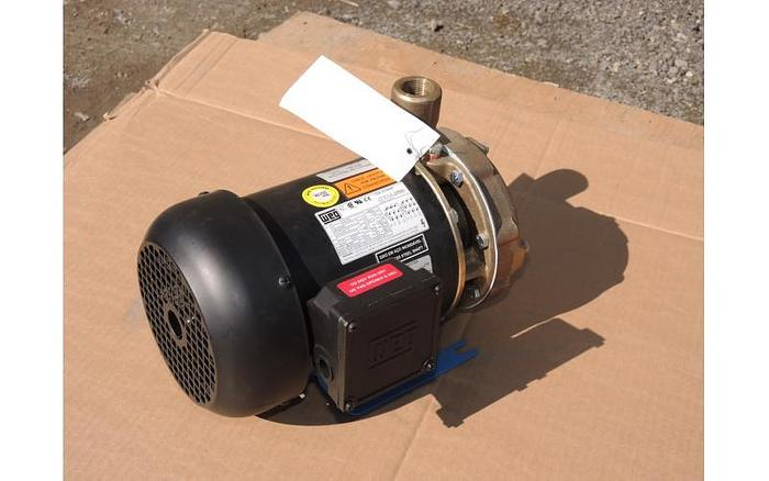 "USED CENTRIFUGAL PUMP, 1.25"" X 1"" INLET & OUTLET, BRONZE, UNUSED"