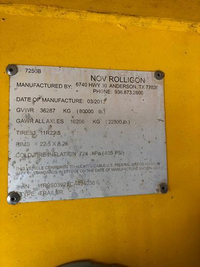 2013 Rolligon Tandem Axle Blender