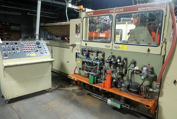 2001 BROWN & SHARPE SR-3036 In-Line Thermoformer Lines