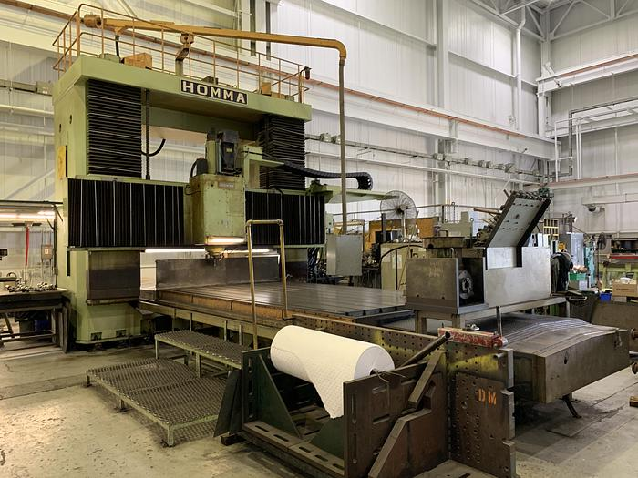 Used Homma CNC Vertical Gantry Mill