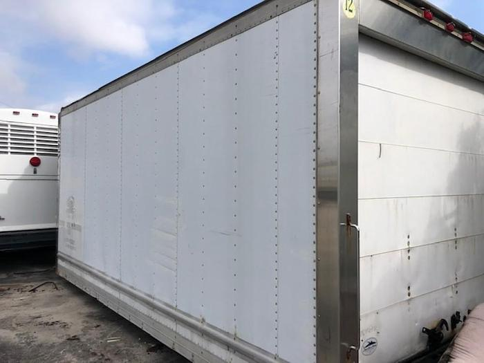 1997 MORGAN REEFER BOX 18X96 WITH CARRIER WITH SAND-BY
