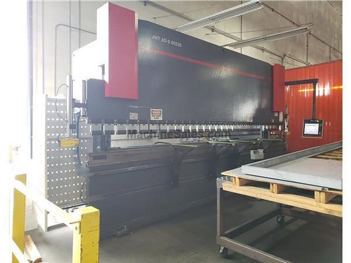 2012 242 Ton x 20' JMT AD-S 60220 CNC Press Brake