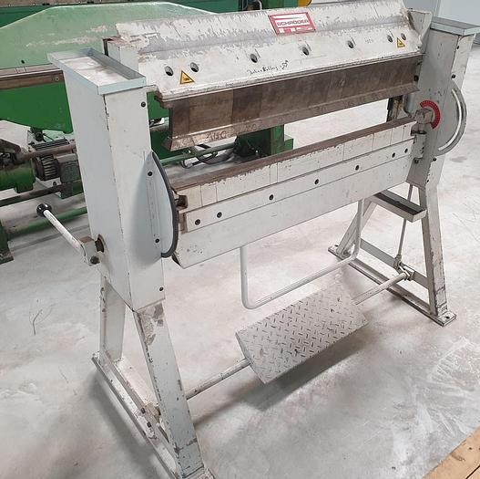 Gebraucht Schwenkbiegemaschine Schröder ASK II 1000 x 2