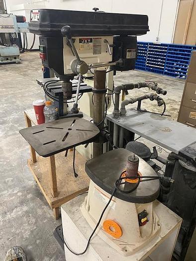 Used Jet Model JDP-15MF Drill Press #5898