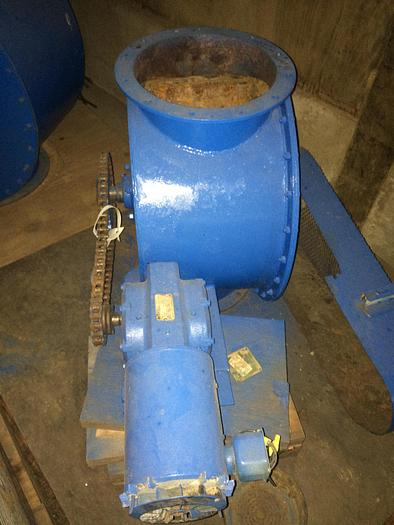 Used Airlock 12 inch inlet and outlet