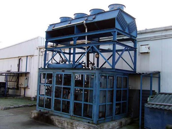 Używane Kompaktowa maszynownia chłodnicza