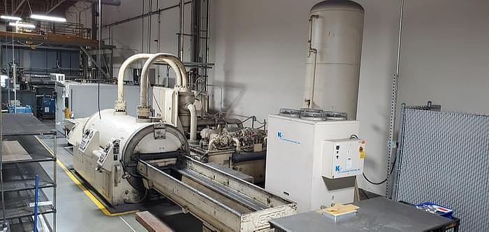 Used Verson Wheelon Fluid Cell Press 36 x 120