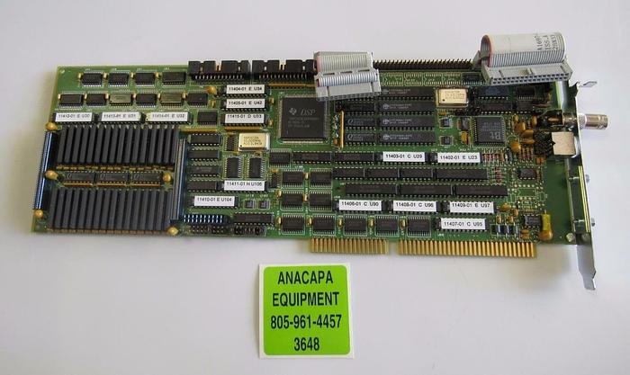 Used PWA Power Grabber F Series 908-11492 PC Board / Interface Card (3648)