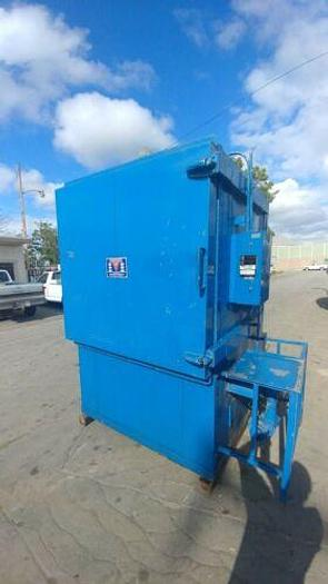 """Used INDOCO 36"""" X 30"""" X 38"""" INSIDE DIMENSIONS 500 DEGREE F 250 BTU INDUSTRIAL OVEN"""