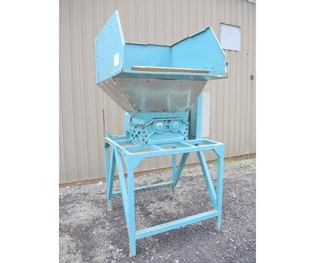 USED SHREDDER, DUAL SHAFT, CARBON STEEL, 10 HP