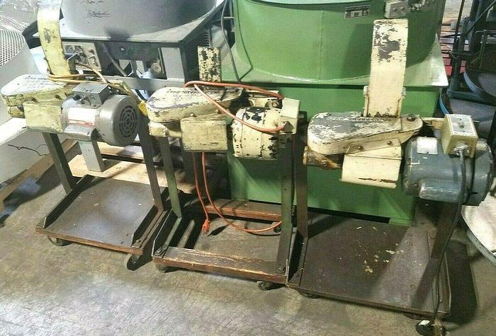 Used Star Motorized Metal Stock Choppers Recycle Metal Scrap feed strip press side