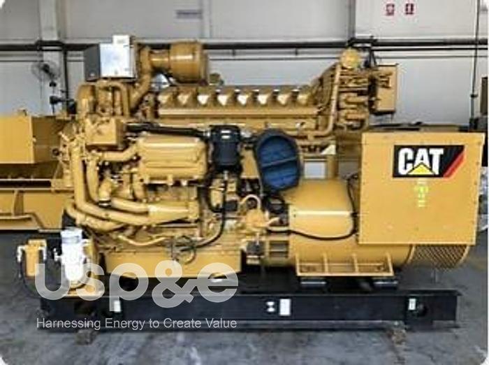 Used .45 MW 2008 New Caterpillar C18 Surplus Diesel Marine Generator Sets