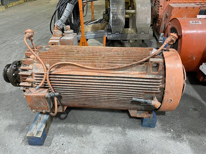 Used 600 HP GENERAL ELECTRIC AC MOTOR 1790 RPM